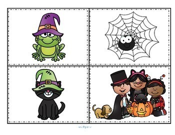 HALLOWEEN Math and Literacy Centers and Activities for Preschool and Pre-K