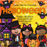 HALLOWEEN Theme Centers Activities and Printables for Preschool 103 pages