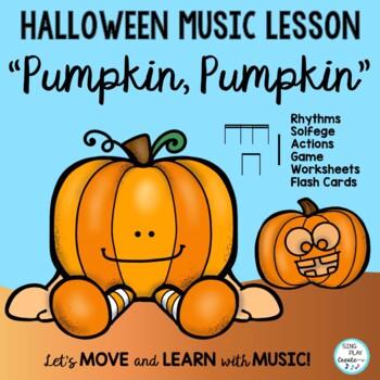 """Halloween Rhythm Chant """"Pumpkin, Pumpkin"""""""
