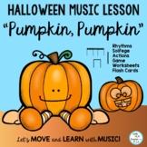 """Halloween Music Class Rhythm Chant """"Pumpkin, Pumpkin"""""""