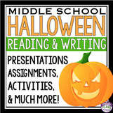 HALLOWEEN READING AND WRITING ACTIVITIES & ASSIGNMENTS