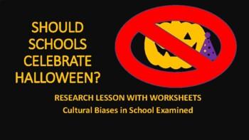 HALLOWEEN RESEARCH PAPER: SHOULD SCHOOLS CELEBRATE HALLOWEEN?