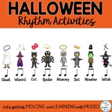 Halloween Music Rhythm- Composing-Improvisation Lessons an