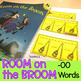 Room on a Broom Task Cards Foldables Compound Words