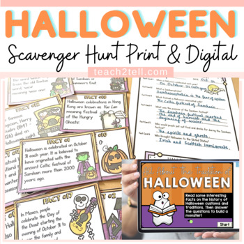 HALLOWEEN SCAVENGER HUNT: HISTORY AND TRADITION