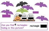HALLOWEEN MATH SHAPE FIND