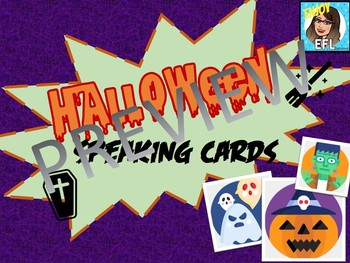 HALLOWEEN - SPEAKING CARDS