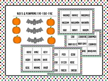 HALLOWEEN - SPEECH THERAPY - PRE VOCALIC & VOCALIC R