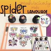 HALLOWEEN SPIDER LANGUAGE WORKSHEETS (SPEECH & LANGUAGE THERAPY