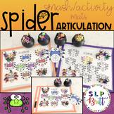 HALLOWEEN SPIDER SPEECH, ARTICULATION (SPEECH & LANGUAGE THERAPY)
