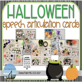 HALLOWEEN Speech Articulation Cards