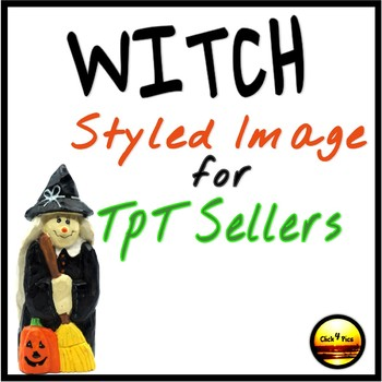 HALLOWEEN Styled Image Witch for Commercial Use