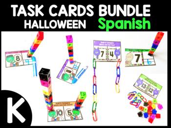 HALLOWEEN TASK CARDS ~BUNDLE in SPANISH