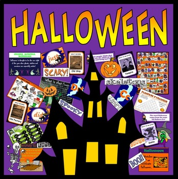 HALLOWEEN TEACHING RESOURCES SCIENCE FOOD EYFS KS1-2 WITCH GHOST ROLE PLAY