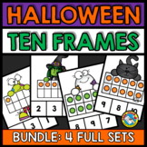HALLOWEEN TEN FRAME ACTIVITIES (KINDERGARTEN AND PRESCHOOL