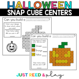 HALLOWEEN THEMED Snap Cube Math Centers