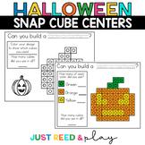 HALLOWEEN THEMED Snap Cube Math Centers
