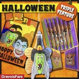HALLOWEEN TRIPLE FEATURE: Crafts, Activities, Decoration, and Fun! BUNDLE!