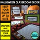 OCTOBER HALLOWEEN Classroom Theme EDITABLE Decor-34 Printable Product Bundle