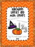 HALLOWEEN Themed Literacy & Math Centers