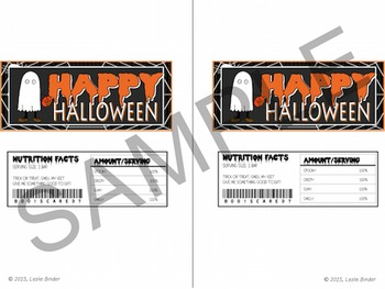 Halloween-Candy Bar Wrappers and Water Bottle Labels-01