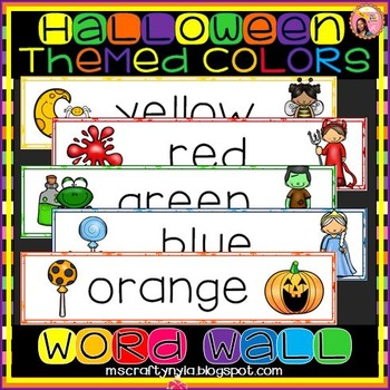 Colors - Halloween Theme