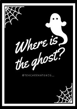 HALLOWEEN- Where is the ghost?