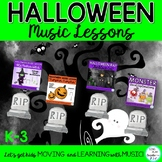 """Halloween Music Lessons"""" Witch-Witch"""" """"Pumpkin"""" """"Black Cat"""" Vocal Explorations"""