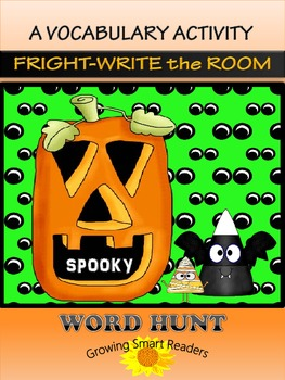 HALLOWEEN Word Hunt {Write the Room - Grades 2-4}
