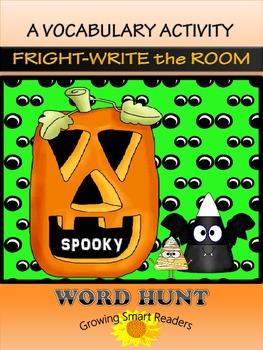HALLOWEEN Word Hunt {Write the Room - Grades 2-4}