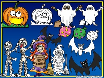 HALLOWEEN clipart by Happy Markers