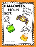 HALLOWEEN nouns and Guided Worksheet