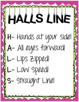 HALLS Line Procedures