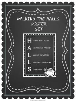 HALLS Poster Set