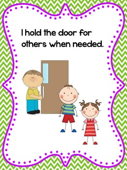 HALLWAY Expectations Social Story (SWPBS/PBIS): Respectful, Responsible, Safe