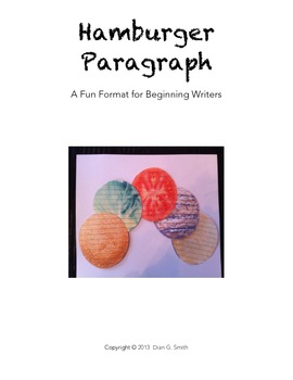 HAMBURGER PARAGRAPH KIT: A Fun Format for Beginning Writers