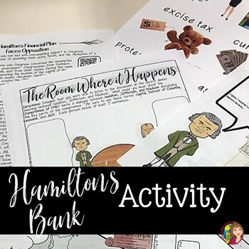 HAMILTON'S FINANCIAL PLAN AND NATIONAL BANK Reading and Doodle Notes