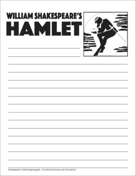 HAMLET Activity — William Shakespeare — Ready-to-Go Art and Writing Project