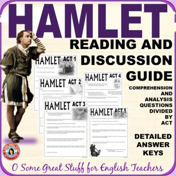 HAMLET COMPREHENSION AND ANALYSIS QUESTIONS WITH DETAILED KEY