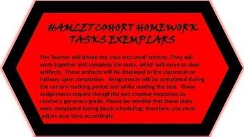 HAMLET HOMEWORK TASKS