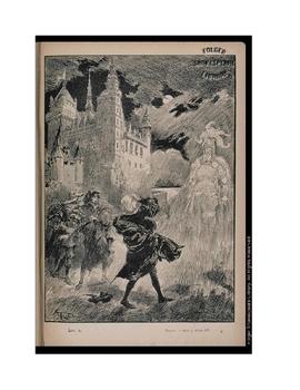 HAMLET - Illustrating King Hamlet's Ghost