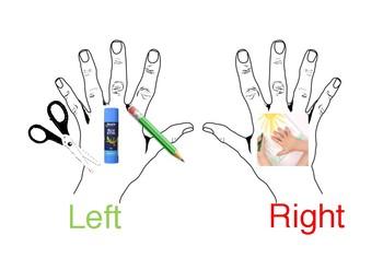 HAND DOMINANCE TABLE VISUAL
