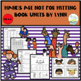 HANDS ARE NOT FOR HITTING BOOK UNIT