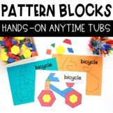 HANDS ON ANYTIME TUBS PATTERN BLOCKS