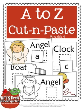 HANDS-ON INTERACTIVE A-Z CUT-N-PASTE BOOKLET