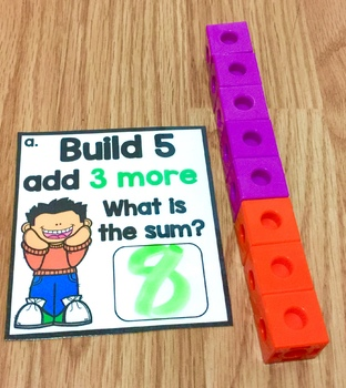 HANDS ON MATH ~ Build, Count, Compare, Decompose, and Add