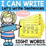HANDWRITING WORKBOOKS with 1st GRADE SIGHT WORDS