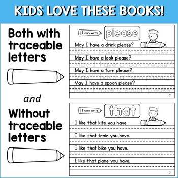 HANDWRITING WORKBOOKS with PRIMER SIGHT WORDS