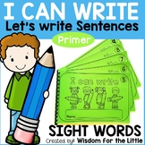 HANDWRITING WORKBOOKS with PRIMER SIGHT WORDS