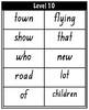 HANDWRITING PM Sight/Flash Word Cards Level 1-10
